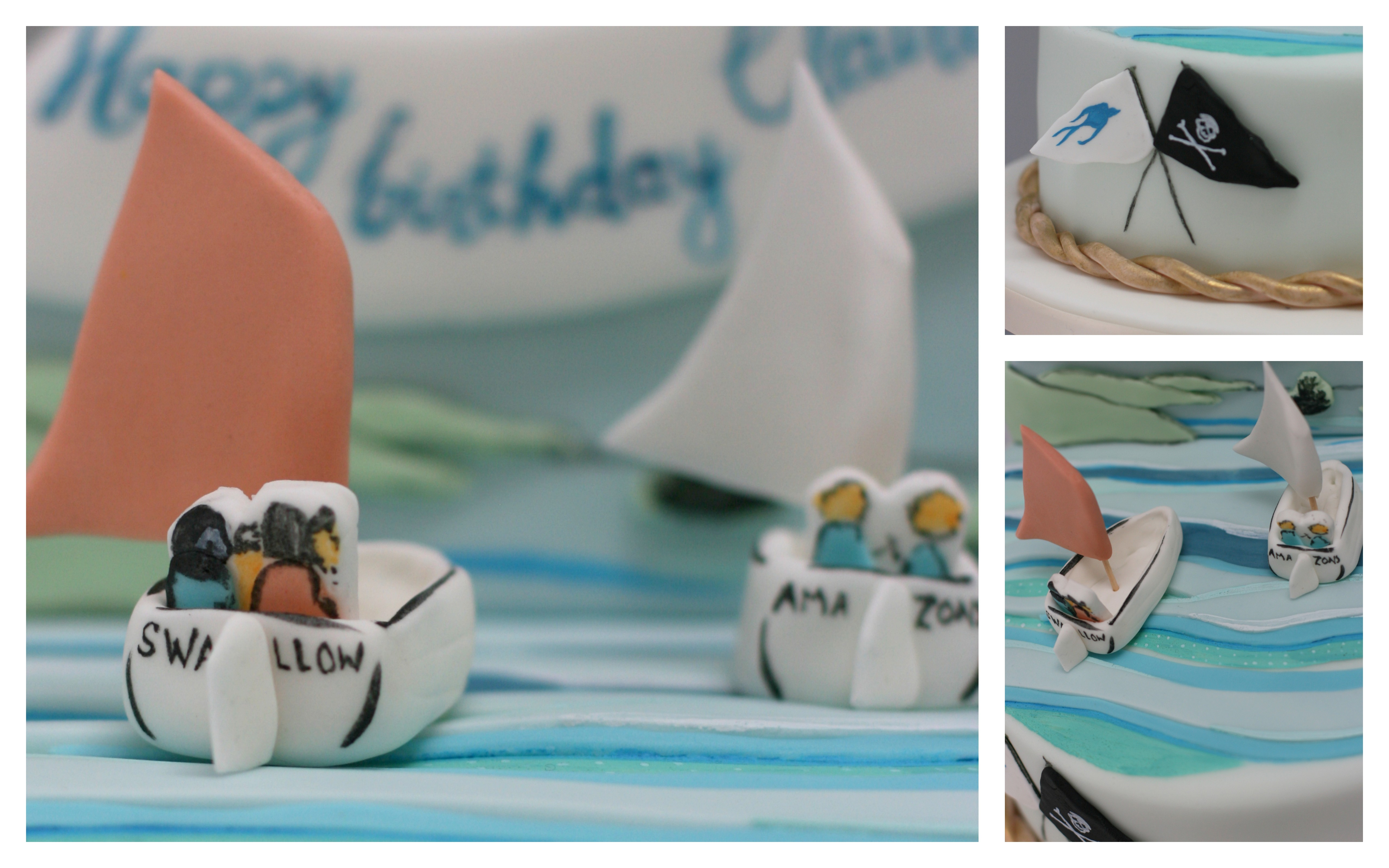 Swallows and amazons cake