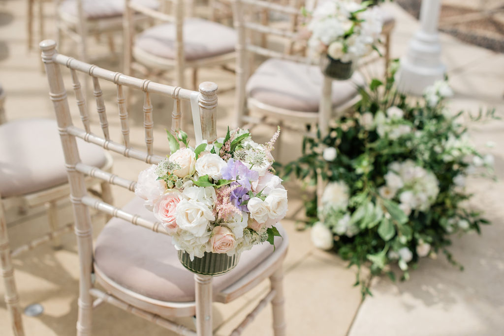 Summer wedding at Chiswick House, London | Sugar Plum Bakes