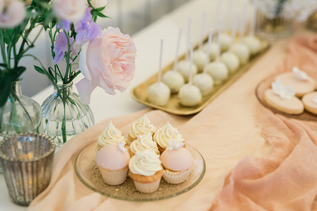 Dessert table for a summer wedding at Chiswick House, London | Sugar Plum Bakes