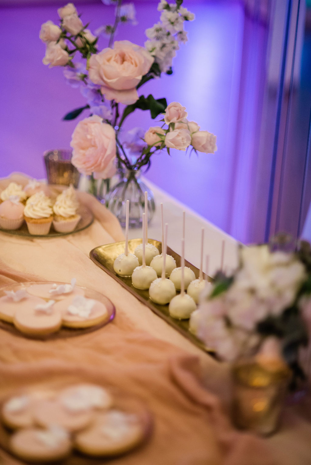 Dessert table at Chiswick House wedding, London | Sugar Plum Bakes