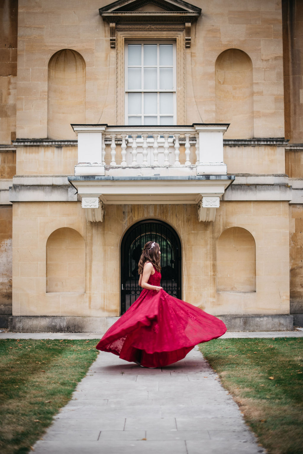 Chinese wedding dress at Chiswick House, London | Sugar Plum Bakes