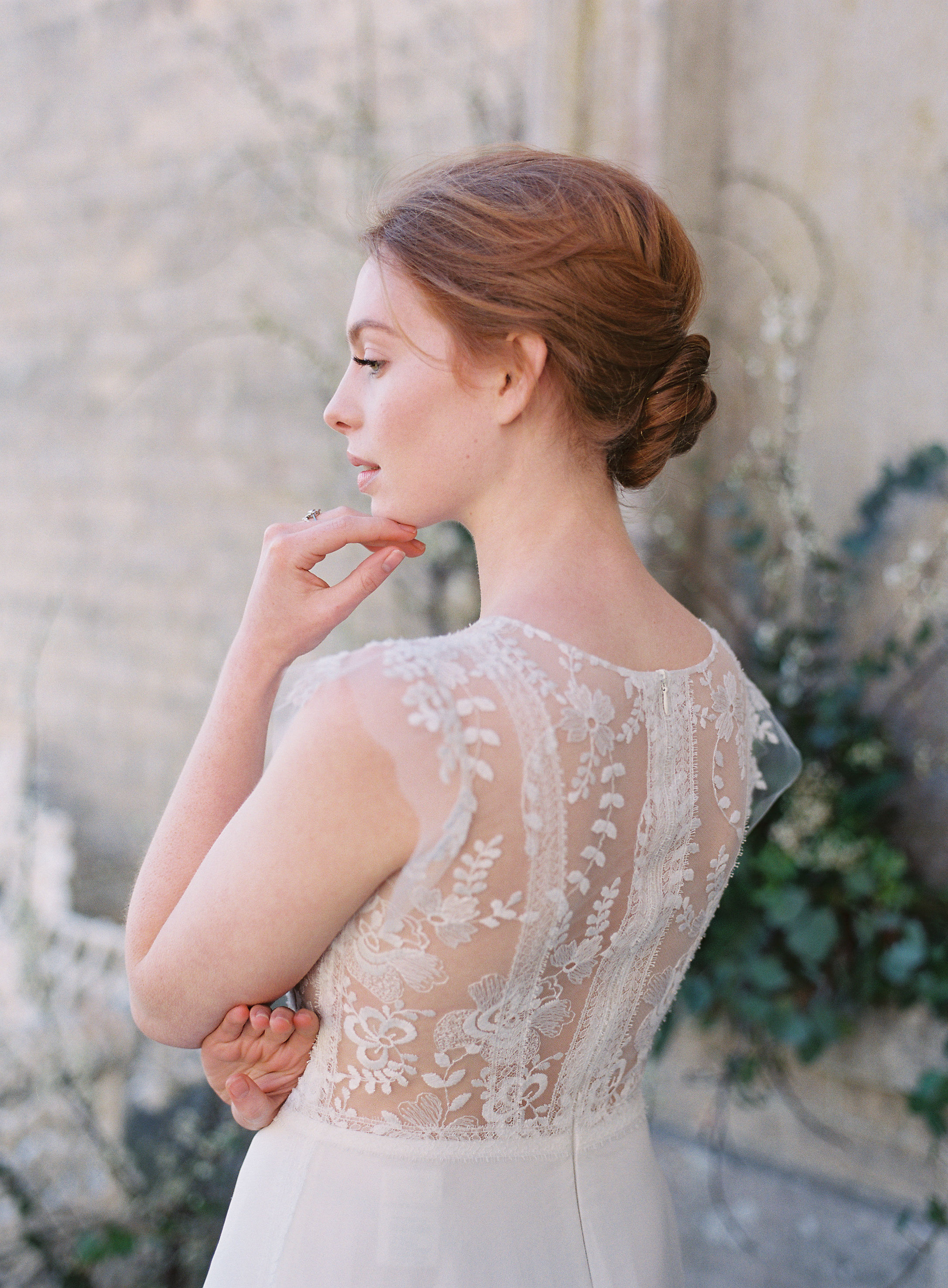 Anna Kara bridal gown for a Spring inspired wedding shoot at heritage venue Somerley House. Photo by Camilla Arnhold